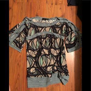 BCBG Jersey Tunic size S